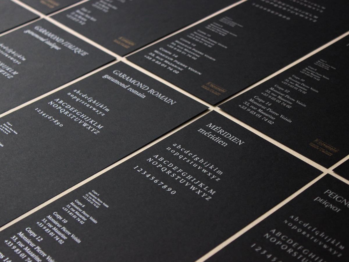 typo typographie