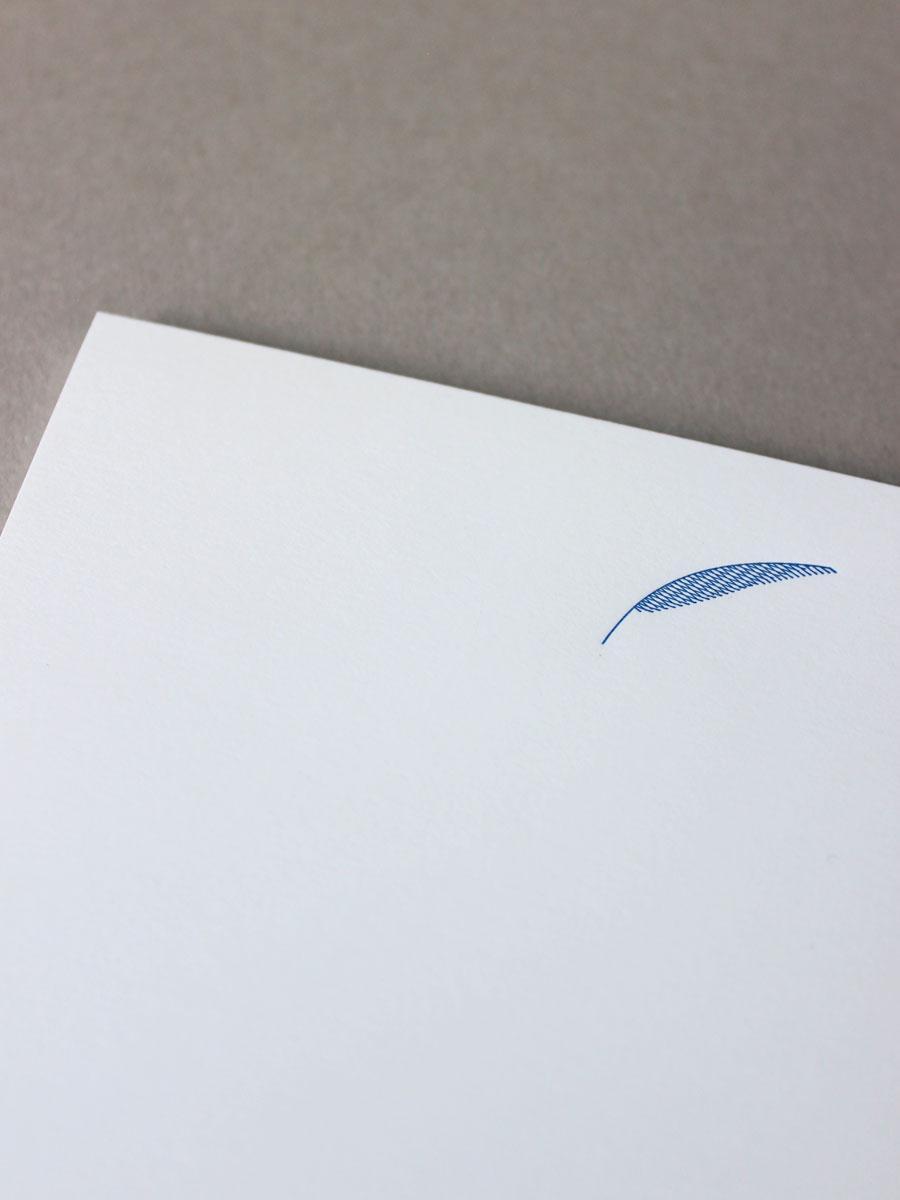 papier à lettre A4 palme